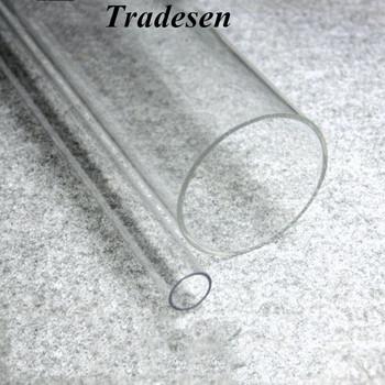 1 sztuk 50cm długość 16mm ~ 90mm rura akrylowa wysoka przejrzystość rury do akwarium akcesoria do akwarium nawadnianie ogrodu złącze rury tanie i dobre opinie Kryty Zaopatrzenia w Wodę Acrylic