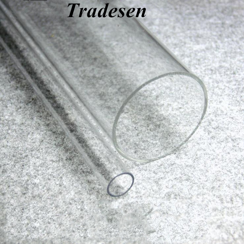 1pcs 50cm Length 16mm~90mm Acrylic Tube High Transparent Tube For Fish Tank Aquarium Supplies Garden Irrigation Pipe Connector