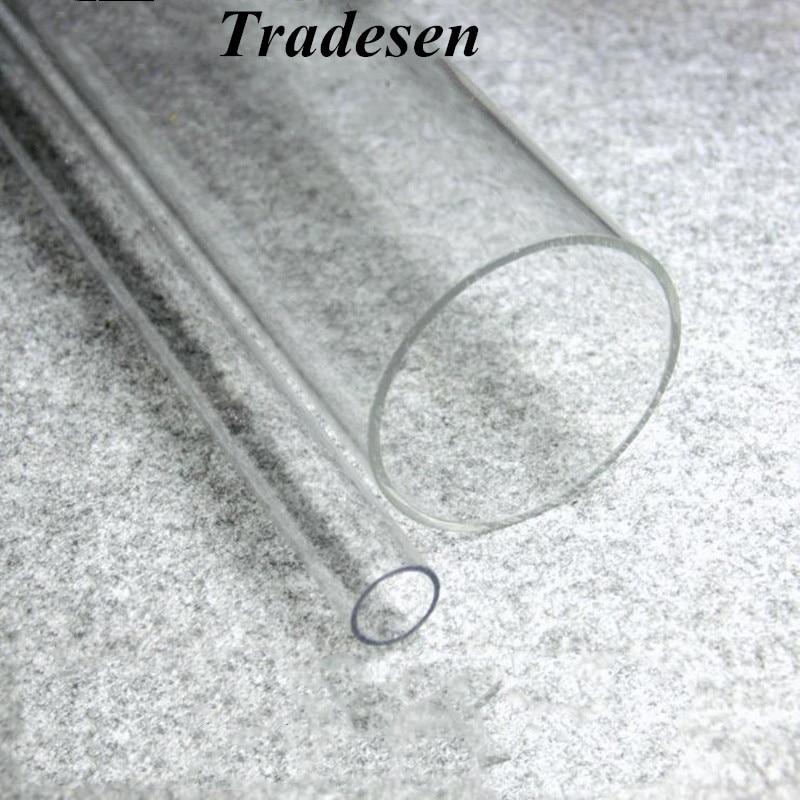 1pcs 50cm Length 16mm~90mm Acrylic Tube High Transparent Tube For Fish Tank Aquarium Supplies Garden Irrigation Pipe Connector