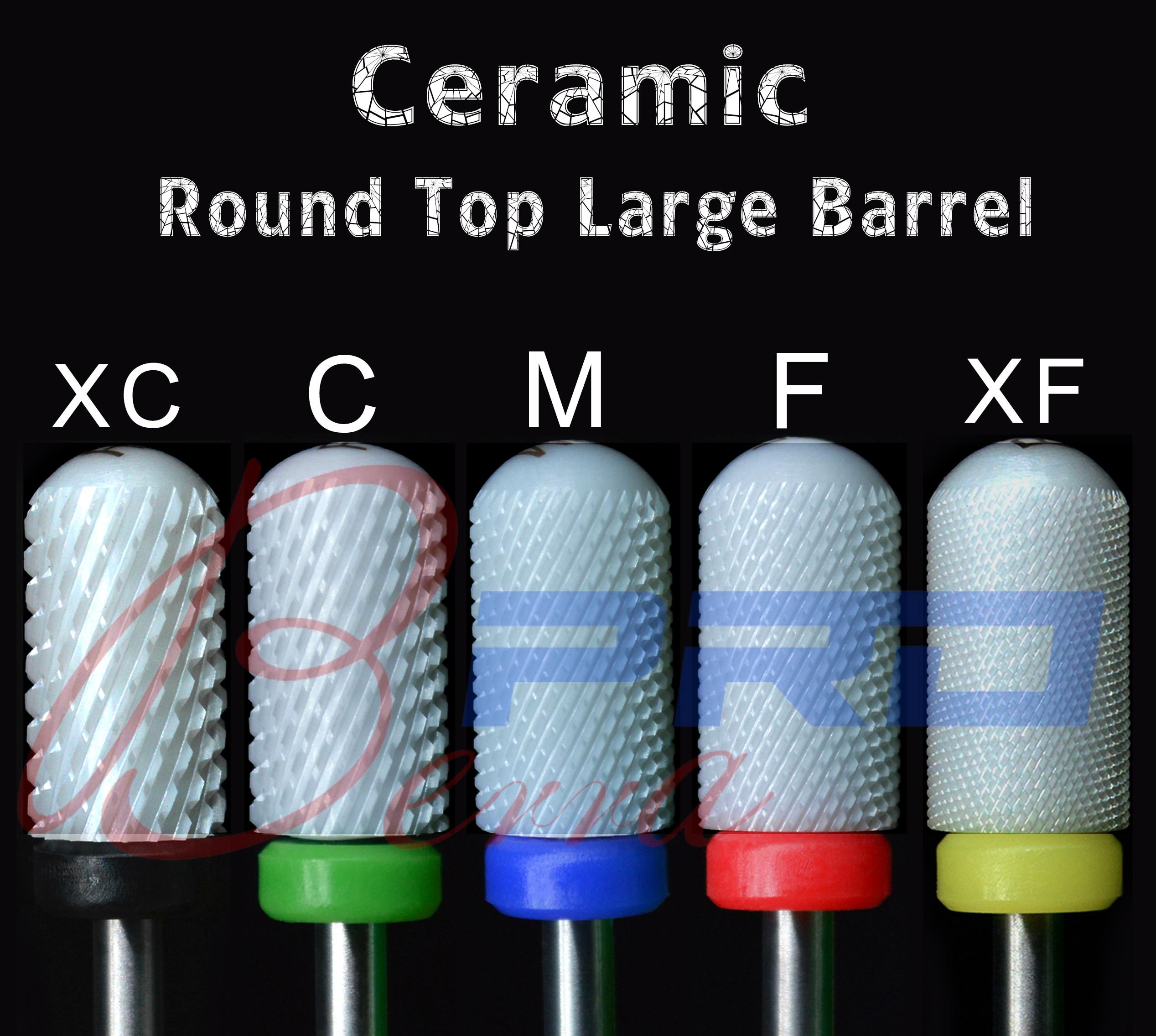 Proberra 6,6 большое гладкое круглое цилиндрическое керамическое сверло для ногтей вращающееся сверло для фрезерования фрез Набор инструментов для маникюра и педикюра|Принадлежности для дизайна ногтей|   | АлиЭкспресс