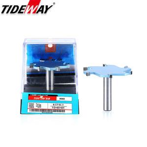 Image 5 - Tideway 1/2 Shank 6 Flutes Groove Slotting Milling Cutter CNC Tool For Hard Wood Cutters T type Slot Woodworking Router Bit