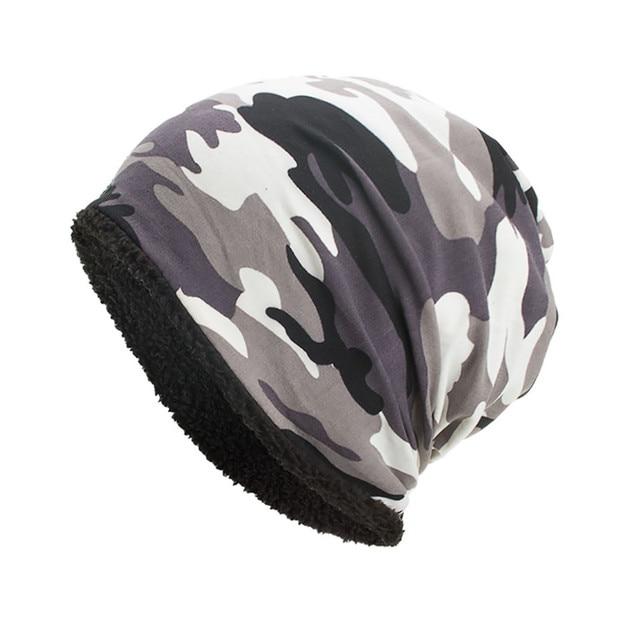 Camouflage Winter Beanie 8