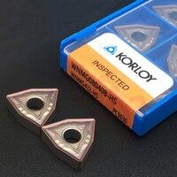10 Pcs WNMG080408 Hs PC9030 Inserti in Metallo Duro di Alta Qualità Wnmg 080408 Tornitura Esterna Strumento Strumento Tornio Cnc per Acciaio Inox