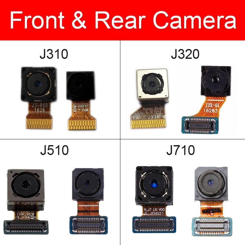 Front & Rear Camera For Samsung Galaxy J3 J5 J7 2016 J310 J320 J510 J710 Main Back Camera Module Small Camera Flex Cable Parts