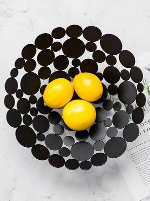 Ménage lumière luxe fruits plaque personnalité créative style nordique salon Table basse décoration plateau moderne - 3