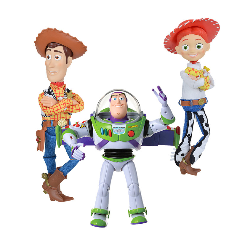 Tomy Dormeuil Toy Story English Version 1: 1 Interactive Sound Making Doll-Buzz Lightyear Woody Jessie