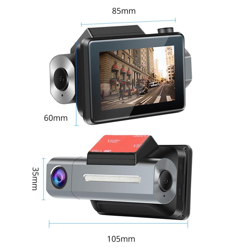 Dash Cam 3G Auto DVR mit Android GPS Log Dual Objektiv 1080p Dash Kamera WIFI Auto Cam Video kanzler Stick Recorder für Phisung K9 - 4
