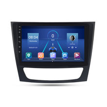Coche 2 Din reproductor Multimedia Android 8,1 GPS para Benz Clase E W211 E200 E220 E300 E350 E240 E270 E280 CLS clase W219 2002-2010