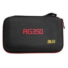 Сетчатый карман для хранения, чехол для переноски, защитный чехол, сумка для игровой консоли, водонепроницаемый жесткий EVA ретро с ремешком для RG350