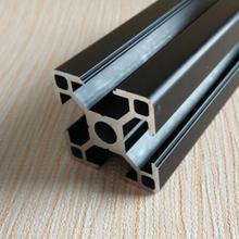 420 мм 3030 черные профили Al для HyperCube Evolution 3D печатных частей черного цвета, 6 шт./партия