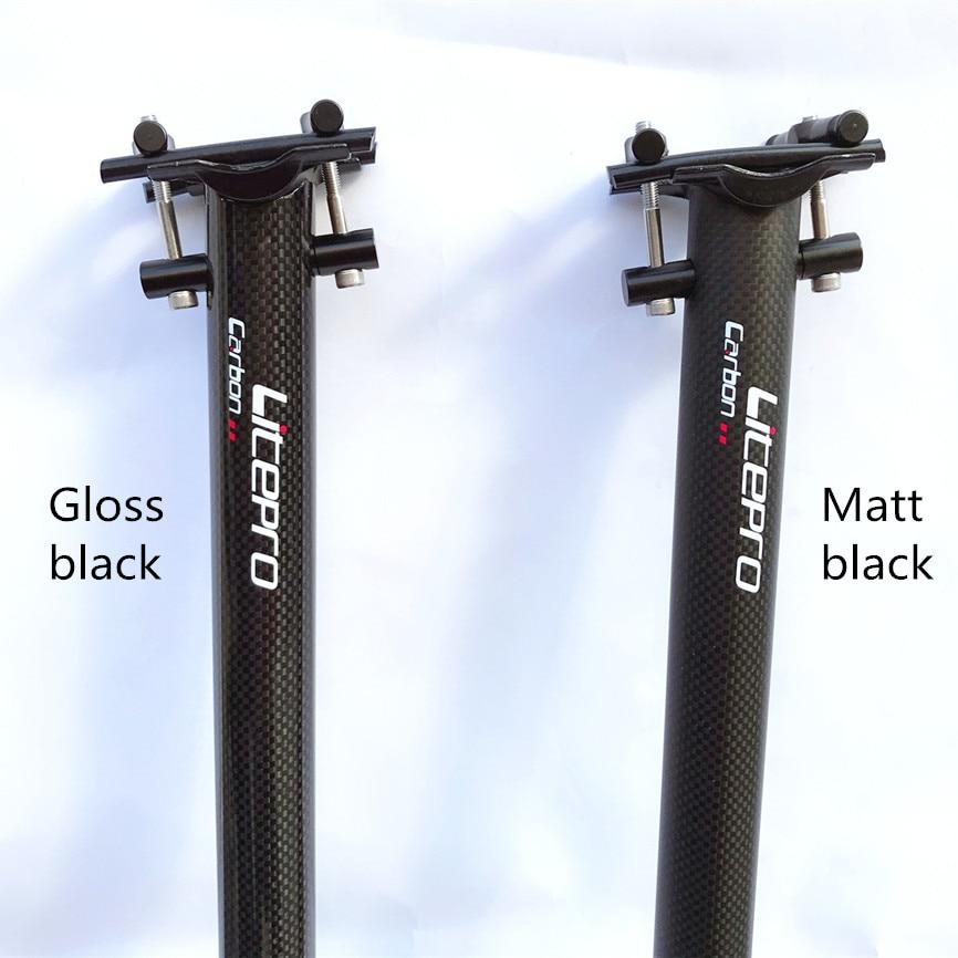 Litepro Aluminium Seatpost 33.9mm x 600mm 650mm Seat Tube For Folding Bike