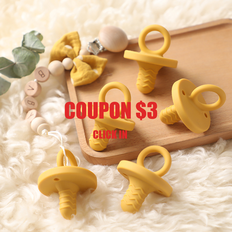 1PC  Baby Pacifier Clip Personalized Silicone  Pacifier Nipple Holder Baby Feeding Safe Eco-friendly Cartoon Baby Dummy Clips