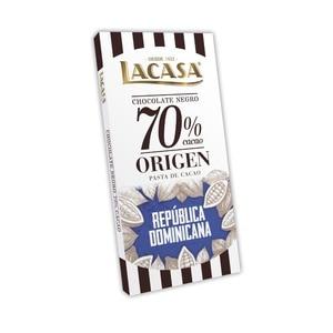Tablet 70% cocoa origin Dominican Republic · 90g.