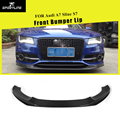 Углеродное волокно/FRP передний бампер спойлер для Audi A7 Sline S7 бампер 2012 2013 2014 2015