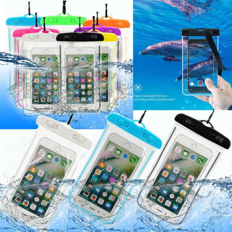 New Waterproof Bag Phone Pouch Cover Mobile Case Beach Outdoor Swimming Pool Snorkeling Bag For Mobile Phone Ipad