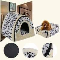 Pliable chien maison produits chien lit pour chiens chats petits animaux cama perro hondenmand panier chien legowisko dla psa