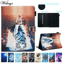 Wekays Cover Cartoon Cat Leather Flip Stand Fundas Case For Coque Huawei Mediapad M3 Lite 10.1 BAH-W09 BAH-AL00 Cover Cases Capa business leather case for huawei mediapad m3 lite 10 bah w09 bah al00 10 1 tablets support stand cover with card solt