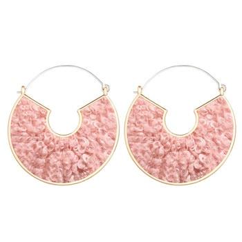 Geometric Shell Earrings For Women Earrings Jewelry Women Jewelry Metal Color: CS565812