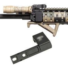 Оружейный светильник крепление со смещением для Surefir M300 M600 M300V серии установлен на Пикатинни Вивер рейку
