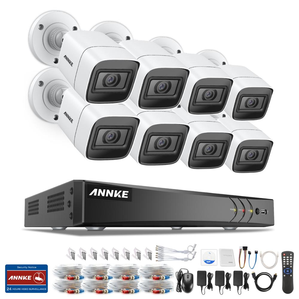 ANNKE 4K HD Ultra Clear 8CH Video Security System H.265+ DVR With 4X 8X 8MP IR Outdoor Weatherproof CCTV Surveillance Camera Kit 5