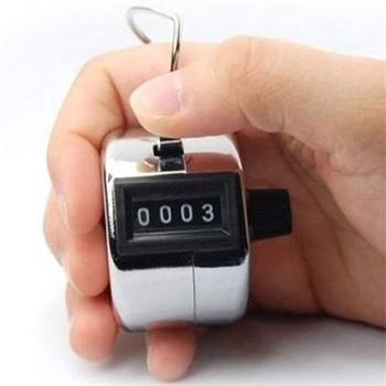 Numer cyfrowy Mini przenośna prasa ręczna licznik zestawień z mechanicznym wyświetlaczem przycisków elektroniczny Tally Counte 1pack 1 8 #215 1 8 #215 1 3in tanie i dobre opinie CN (pochodzenie) Przypomnienie o ustawieniu czasu COMMON Cyfrowe minutniki Metal stop aluminium Ekologiczne