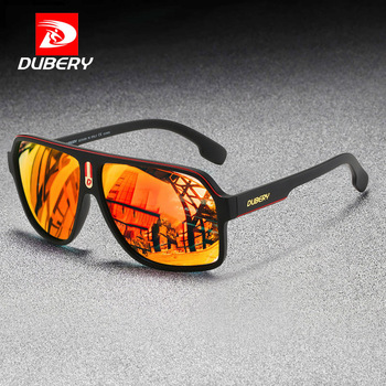 DUBERY Brand Design Fashion Polarized Sunglasses Men Driving Shades Male Retro Sun Glasses For TAC UV Mirror Goggles Oculos