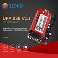 UPA Usb с адаптером 1,3 eeprom программист ECU диагностический инструмент UPA-USB программатор ECU UPA USB V1.3 с полным адаптером UPA - фото
