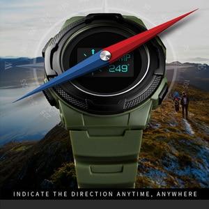 Image 2 - Skmei Digitale Horloge Mannen Multifunctionele Sport Horloges Calorie Berekening Wekker Kompas Heren Horloges Montre Homme 1439