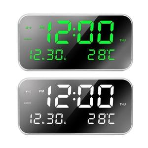 LED Clock Snooze Digital Alarm