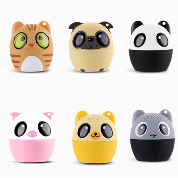 Cute Mini Pet Animal Cartoon Wireless Bluetooth Speaker Support Handsfree Portable Outdoor Music MP3 Player Stereo Loundspeakers