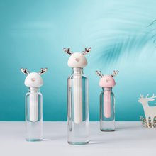 GRTCO Deer Dismountable Air Humidifier for Home Office Portable USB Aroma Diffuser Car Mist Maker Ultrasonic Humidifier Diffuser portable usb mini magic wand stick humidifier ultrasonic mute office home car diffuser 4 colors mist maker
