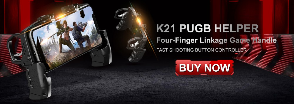 Finger Linkage Game Handle Peace Elite Fast Shooting Button Controller Mobile Game Controller Game Trigger Joystick Gamepad for 4-6.5 iOS /& Android Phone K21 PUGB Helper Four