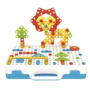 Новая электрическая отвертка DIY Развивающие игрушки дрель игра строительный конструктор для детей новый дизайн