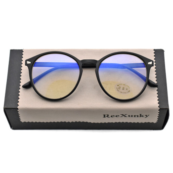 Unisex Anti Blue Rays Computer Glasses Women Vintage Round Frame Gaming Glasses Men Anti Eye Eyestrain light Blocking Eyewear fashion unisex anti blue rays computer goggles reading glasses 100% uv400 radiation resistant glasses computer gaming glasses