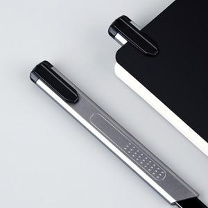 Image 5 - Xiaomi פיז אלומיניום סגסוגת שירות סכין מתכת להב נעילה עצמית עיצוב חד זווית עם שבר סכין חותך