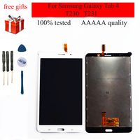 For Samsung Galaxy Tab 4 7.0 T230 SM T230 T231 SM T231 Full Touch Screen Digitizer Sensor Panel + LCD Display Monitor Assembly
