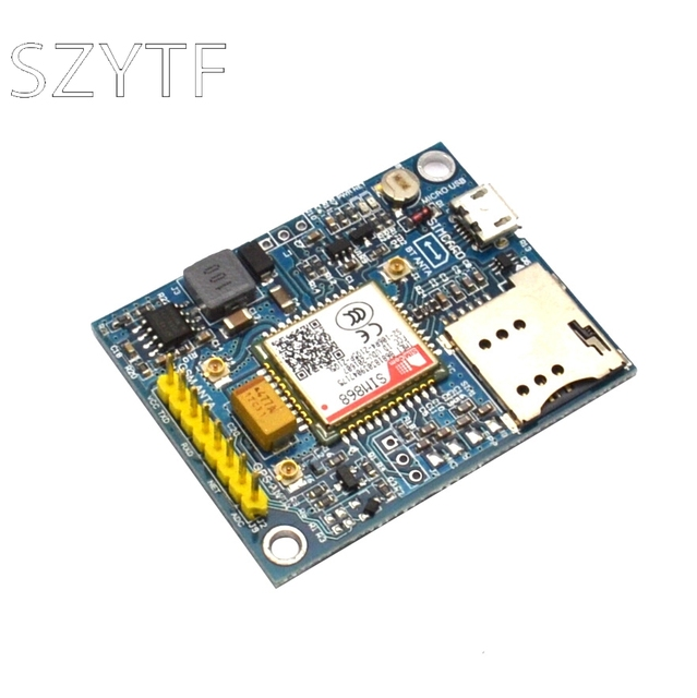 SIM868 Placa de desarrollo GSM/GPRS/Bluetooth/GPS módulo para STM32, 51 programa