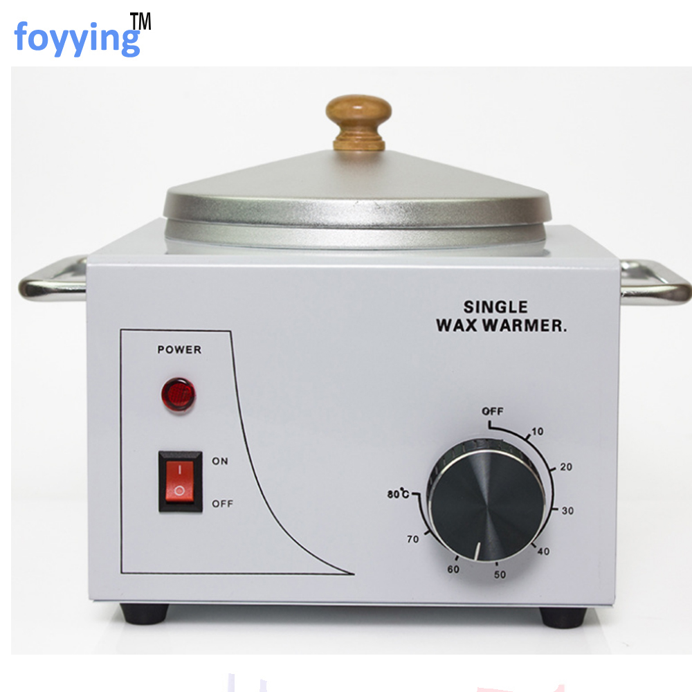 foyying Salon Electric Hot Wax Warmer Heater Facial Skin Hair Removal Spa Tool - Cera Depilatoria Profesiona