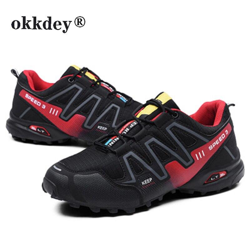 Men luminous shoes Solomon series explosion-proof sneakers shoes chaos large size outdoor shoes non-slip casual sports shoes 20