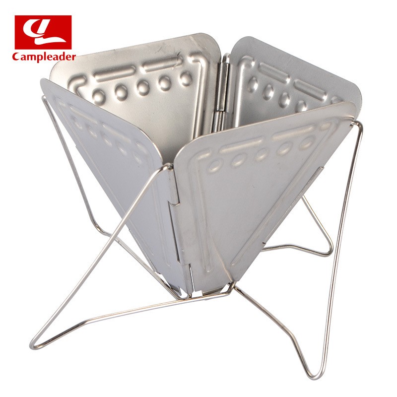 Outdoor Camping Coffee Hourglass Rack Filter Cup 304 Stainless Steel Foldable Portable Coffee Stove Coffee Filter