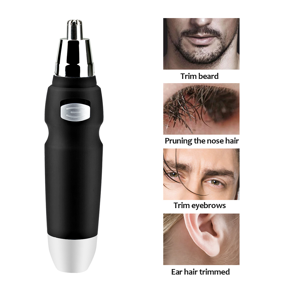 Hot Sell Electric Nose Hair Razor For Men Portable Hair Trimmer Shaver Personal Hair Ear Nose Neck Eyebrow Shaver Smart Fashion