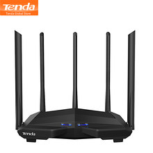 Tenda AC11 AC7 Router 2.4G/5.0G Hz Smart Dual Band AC1200 5 Antena Wireless WIFI Router Repeater APP Remote Mengelola/Setup Yang Mudah(China)