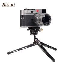 Xiletu XBC20 + XT18 高ベアリングデスクトップブラケットミニ卓上三脚とボールヘッド一眼レフカメラ用ミラーレスカメラスマートフォン