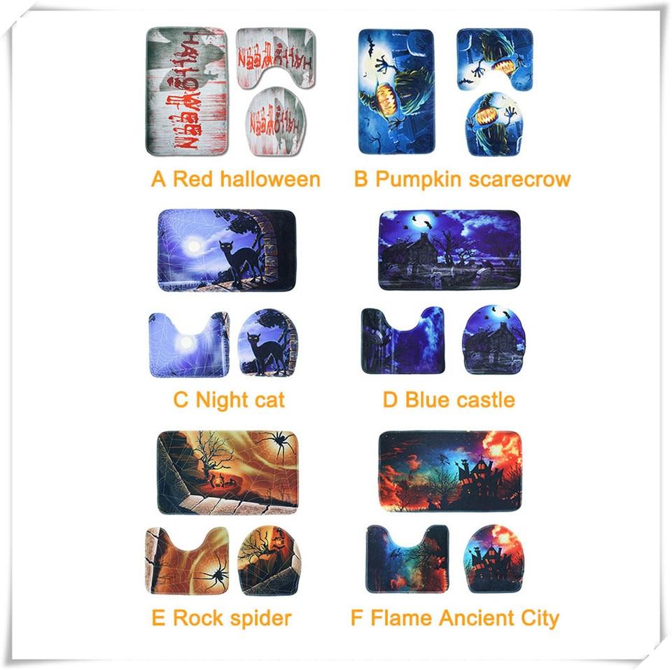 Halloween Bathroom accessories set xq3