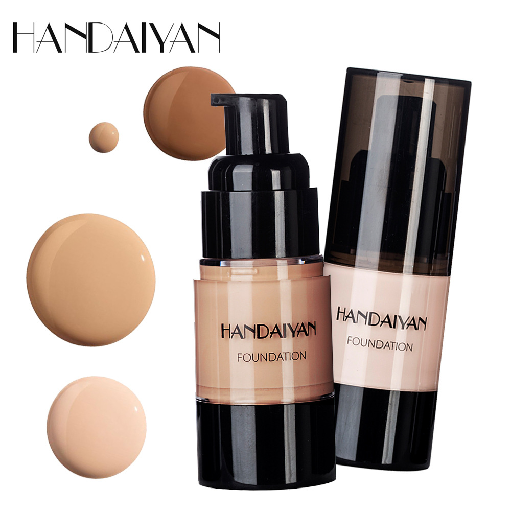 1Pcs Face Foundation Base Makeup BB Cream Long Lasting Concealer BB Cream Whitening Skin Foundation Oil-control Multi Color image