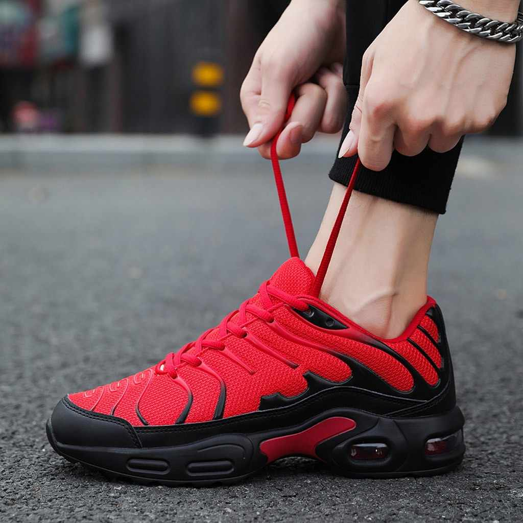 Zapatillas de hombre zapatillas transpirables zapatos casuales cesta Homme cómodos zapatillas ligeras chaissures para Hommes zapatillas #1119g20