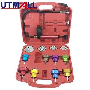 Image 1 - 14PCS Universal Radiator Pressure Tester Kit For Water Tank Leak Leakage Detector