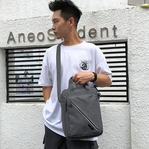 Image 5 - Waterproof Shoulder Bags Large Capacity Business Casual Messenger Bags  Handbags Mini Briefcase For Men 2020 Hot Sales XA500ZC