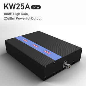 Image 3 - Lintratek חזק 80dB Tri אותות בוסטרים KW25A פרו. GSM 900Mhz UMTS 2100mhz 2G 3G 4G LTE 1800Mhz נייד אות מגבר