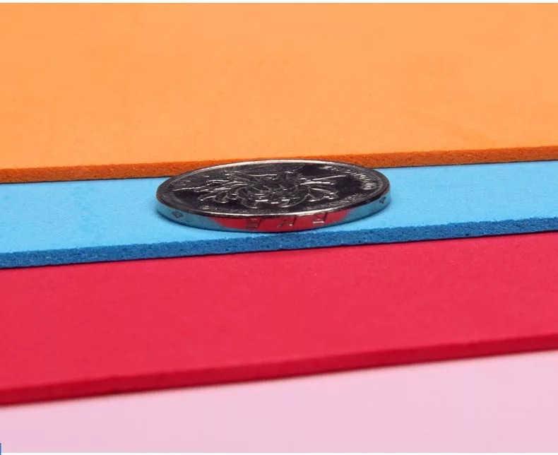 2mm de espesor 49*49 cm 10 Uds de esponja de espuma de papel KraFt foamiran para bordado fieltro 10 Uds